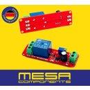 NE555 Module 5V 12V Zeitschaltrelais Relay Einstellbar 10-150s Modul 24V 2,4KW